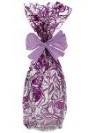 Schmuckbeutel Rosen violett 20 x 35 cm - 10er Pack