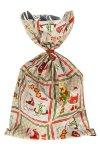 Schmuckbeutel Santa Claus 15 x 25 cm - 50er Pack
