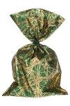 Schmuckbeutel Nexus dunkelgrün 15 x 25 cm - 10er Pack