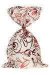 Schmuckbeutel Rosenblüte creme 15 x 25 cm - 10er Pack