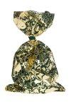 Schmuckbeutel Barock dunkelgrün 15 x 25 cm - 10er Pack