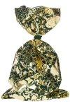 Schmuckbeutel Barock dunkelgrün 20 x 35 cm - 10er Pack