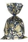 Schmuckbeutel Barock blau 20 x 35 cm - 10er Pack