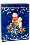 Geschenktasche Kerze, 18 x 8 x 23 cm