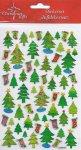 Weihnachtssticker-Set Tannenbaum beglimmert