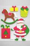 3D Weihnachts-Sticker