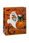 Geschenktasche Happy Halloween, 11 x 6 x 13,5 cm