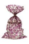 Schmuckbeutel Brokat violett 15 x 25 cm - 50er Pack