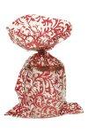 Schmuckbeutel Brokat rot 15 x 25 cm - 10er Pack