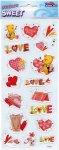 Epoxy-Sticker Die große Liebe