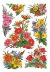 Aufkleber Blumengestecke