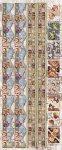 Präge-Sticker Bordüren mit Teddybären beglimmert