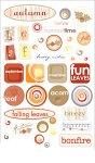 Epoxy-Sticker Stimmungen im Herbst
