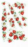 Rubbel-Sticker Leckere Erdbeeren