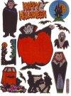 Hologramm-Sticker Halloween - Tanz der Vampire